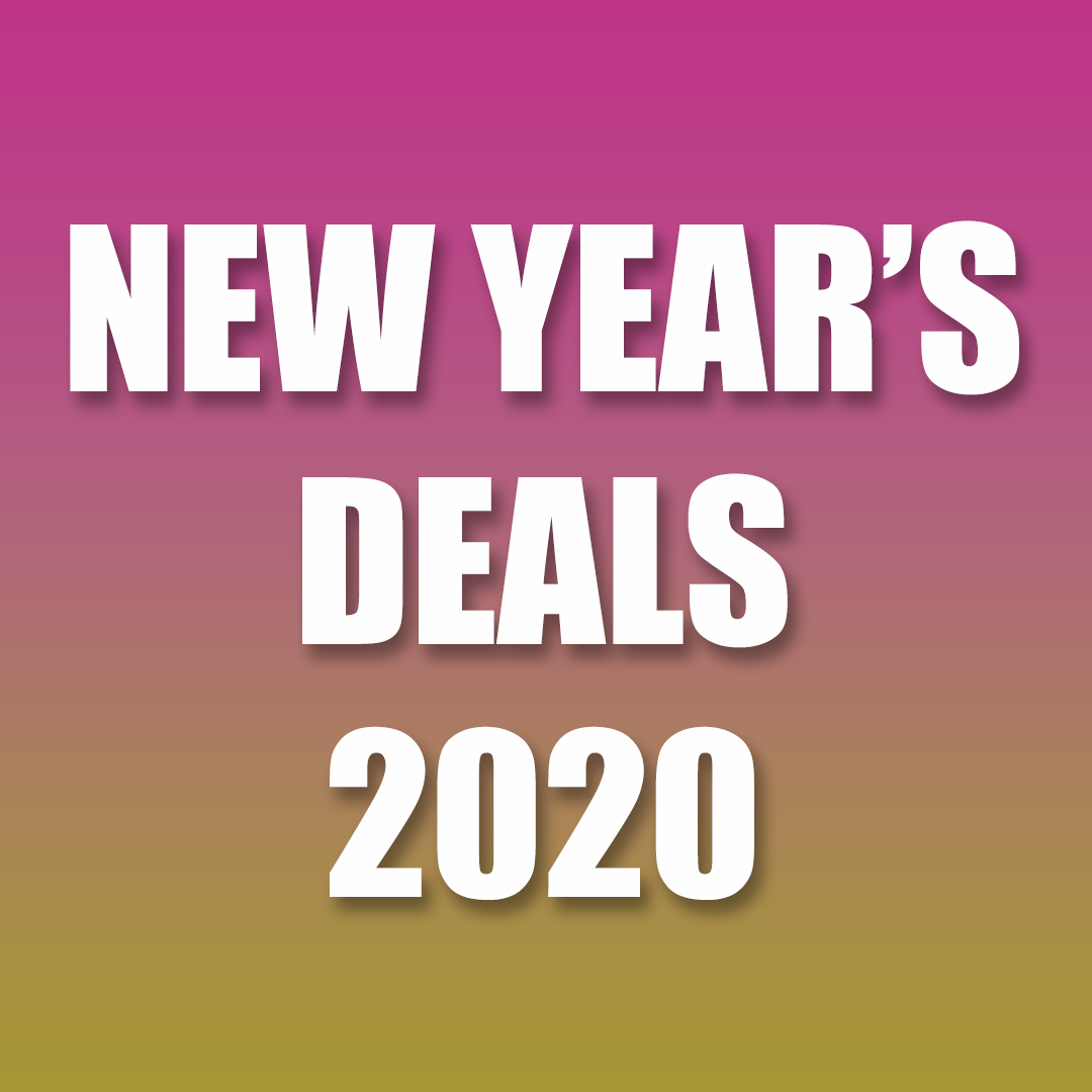 New Year Discount Sale 2020